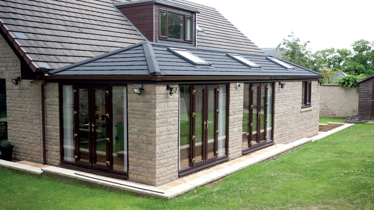 Edwardian Style Guardian Home Modular Extension Replacement Conservatory Roof Bournemouth Poole Christchurch